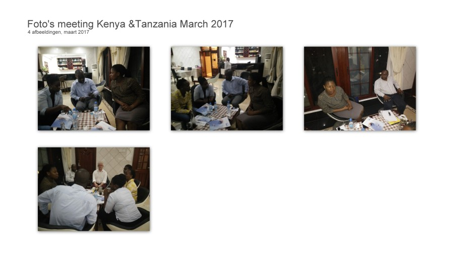 Meeting Tanzani March 2017
